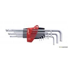 Stiftsleutelset in ProStar houder SB369 ProStar 9tlg verchro