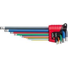 Stiftsleutelset in ErgoStar houder SB369R Ergostar 9tlg verc